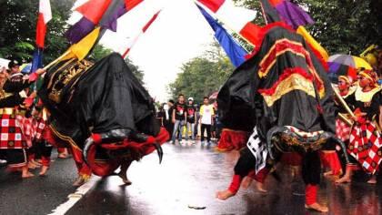 Kesenian Bantengan Jawa Timur