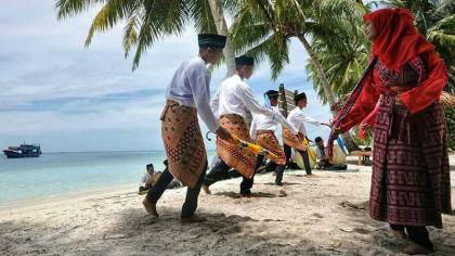 Tari Dampeng Singkil Aceh